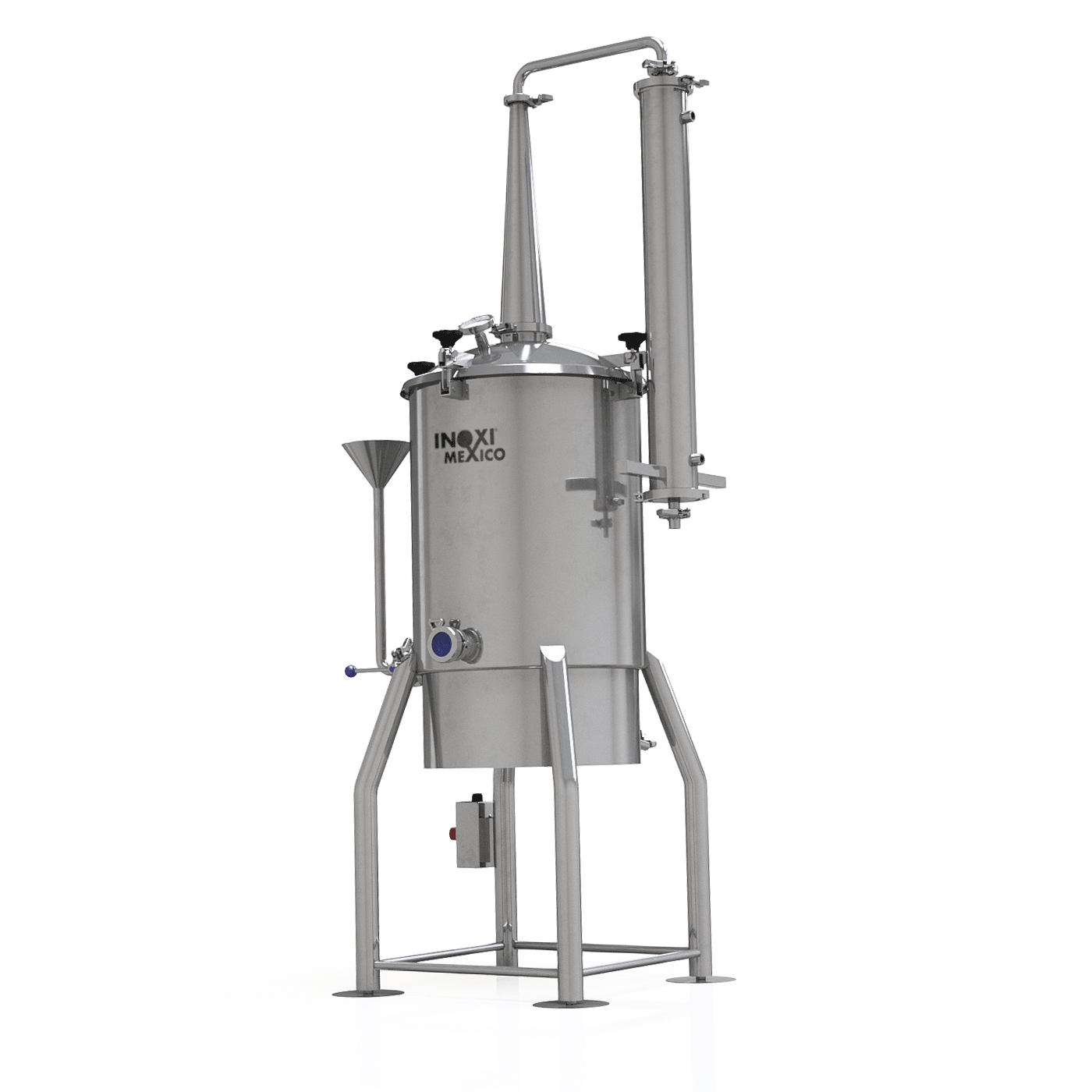 Destilador Alcoholes de 50 Litros