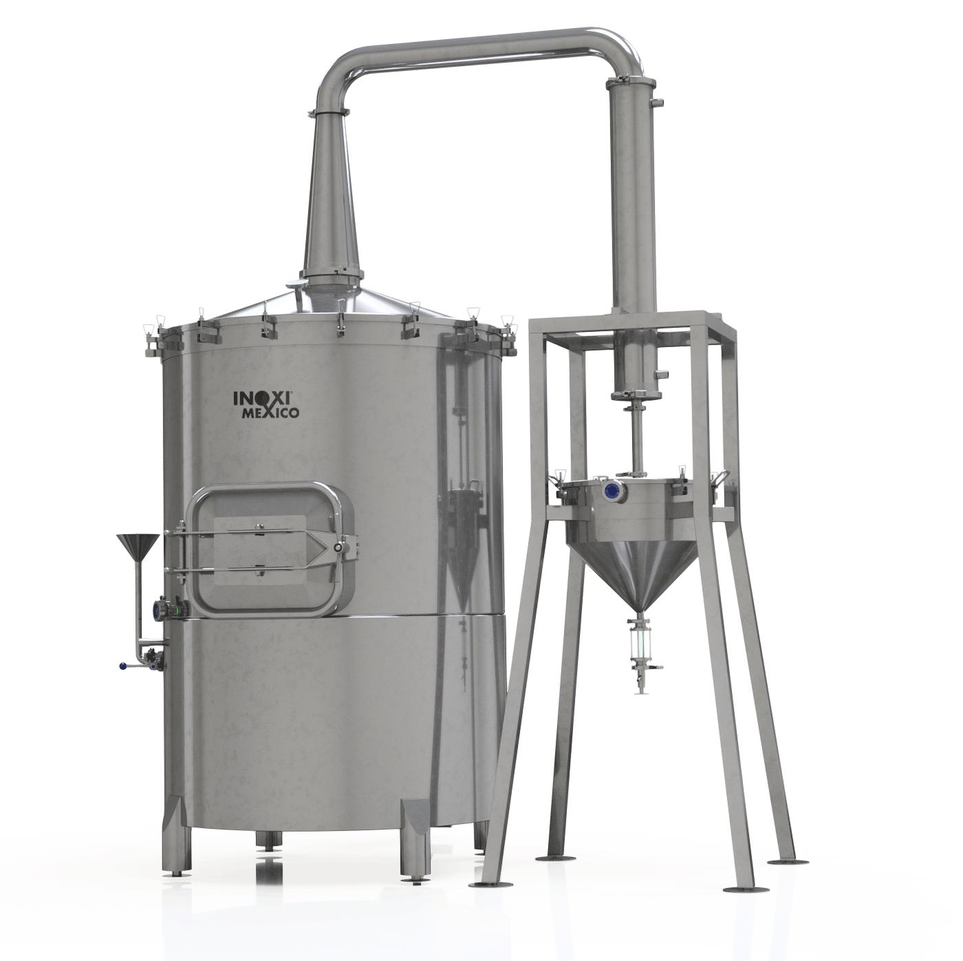 Destilador de Aceites Esenciales de 800 Litros
