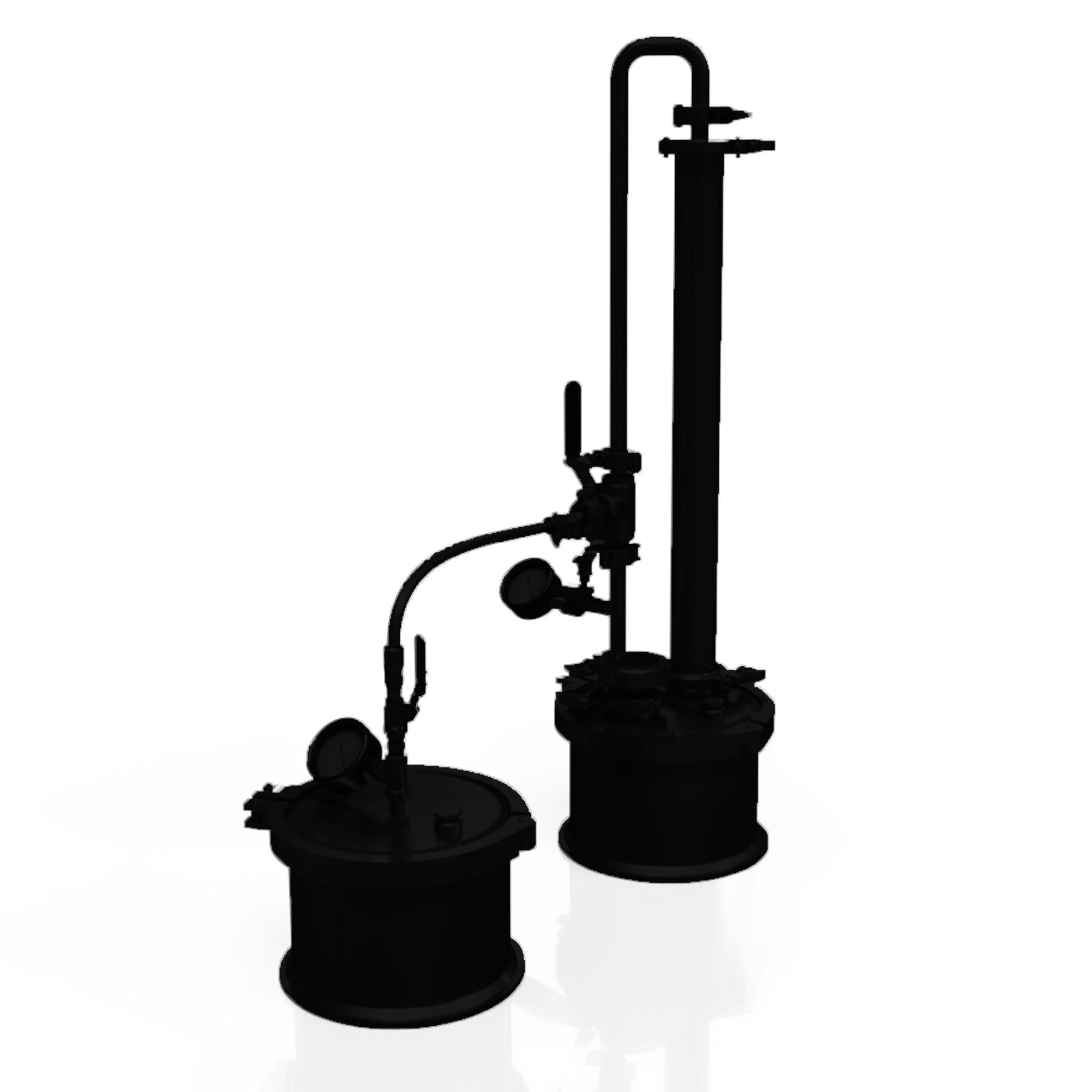 Extractor de Aceites Esenciales por Gases a Presión (PRÓXIMAMENTE)