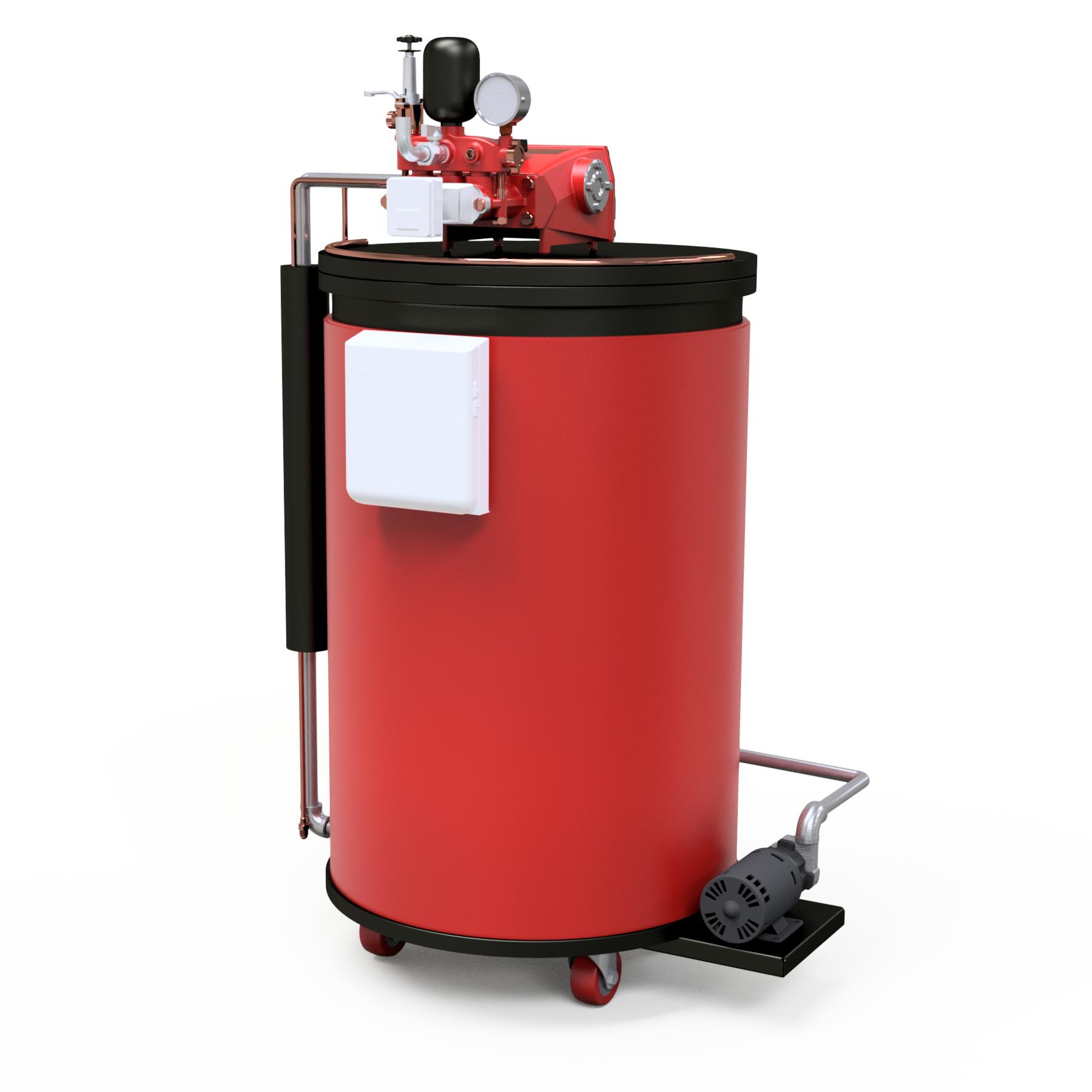 Caldera de Gas LP de 100 kg/hr de Vapor