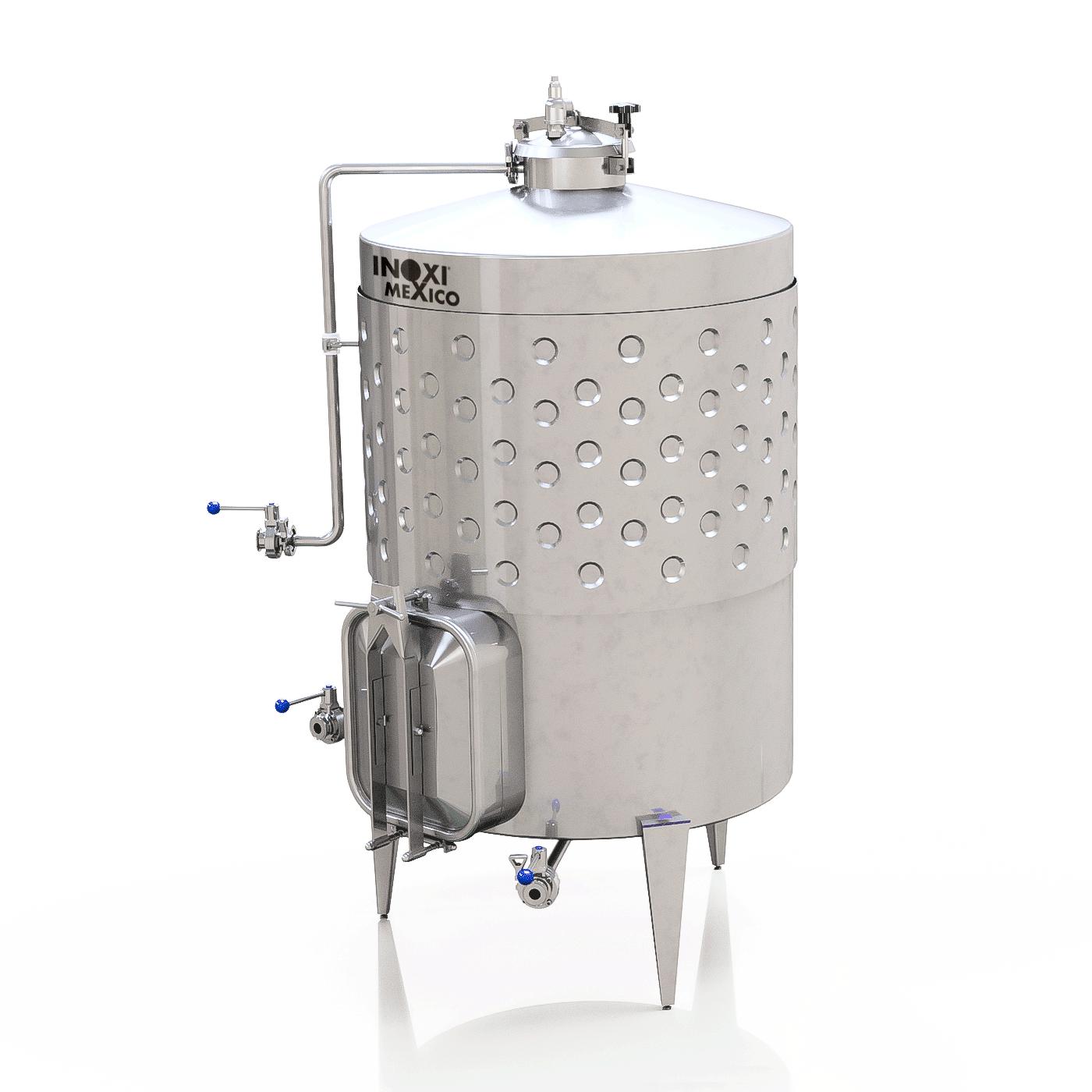 Fermentador De Vino Blanco de 6,000L Enchaquetado