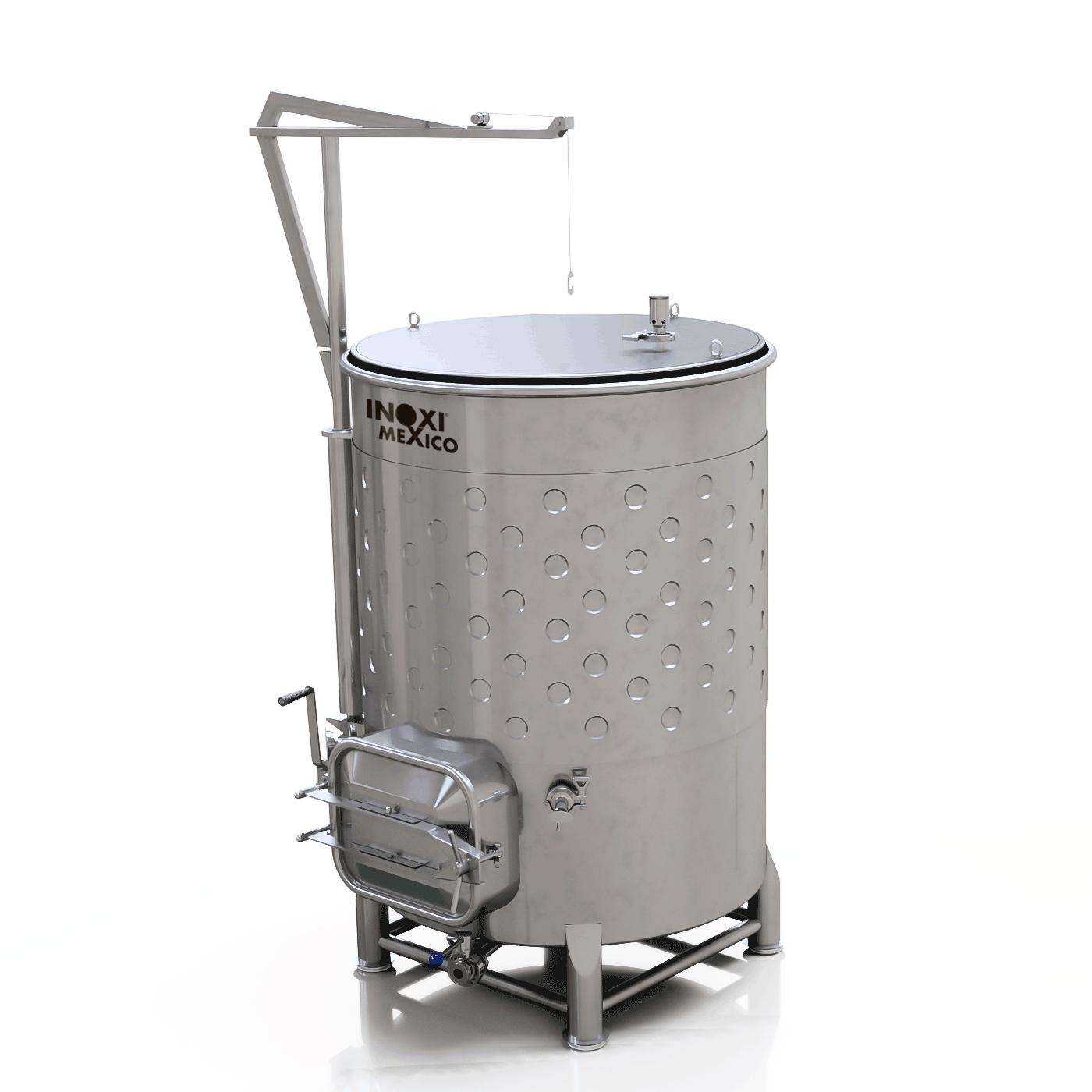 Fermentador Variable para Vino Blanco/Vino Tinto/Sidra 1000L