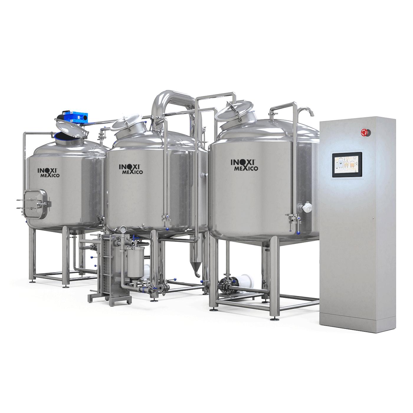 BrewersPro Eléctrico 620 Litros Nominales / (400L - 3.4 BBL Útil)